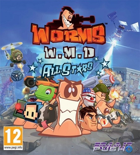 WORMS W.M.D. + ALL-STARS DLC + WORMHOLE UPDATE