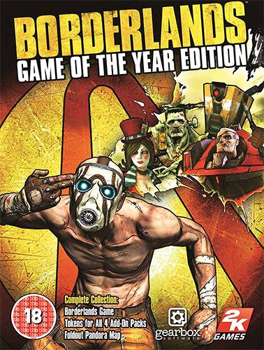 BORDERLANDS: GAME OF THE YEAR EDITION – V1.5.0 + 4 DLCS