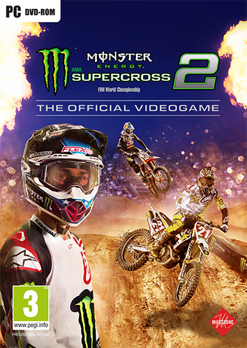 MONSTER ENERGY SUPERCROSS: THE OFFICIAL VIDEOGAME 2 + 7 DLCS