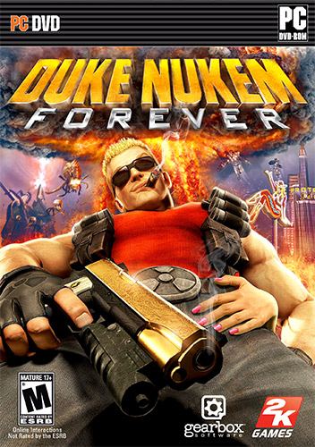 DUKE NUKEM FOREVER, V1.0 (BUILD 244) + 3 DLCS