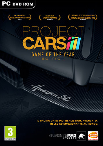 PROJECT CARS: GAME OF THE YEAR EDITION, V11.2 + ALL DLCS
