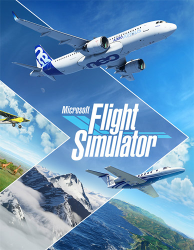 MICROSOFT FLIGHT SIMULATOR – MONKEY REPACK
