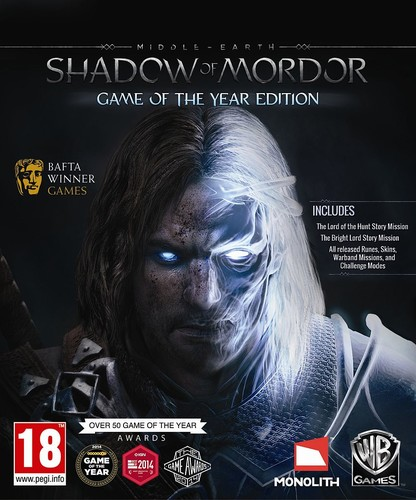 MIDDLE-EARTH: SHADOW OF MORDOR – GAME OF THE YEAR EDITION – V1951.27 + ALL DLCS