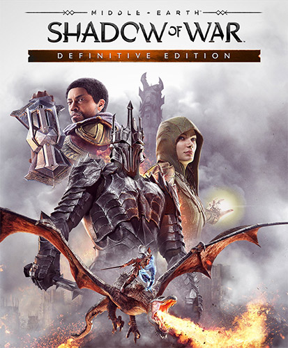 MIDDLE-EARTH: SHADOW OF WAR – DEFINITIVE EDITION – V1.21 + ALL DLCS + 4K CINEMATICS & HD TEXTURE PACKS
